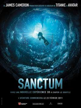 Sanctum - 11 x 17 Movie Poster - French Style B