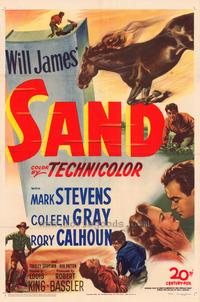 Sand - 11 x 17 Movie Poster - Style A