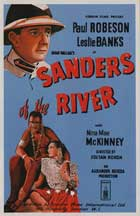 Sanders of the River - 11 x 17 Movie Poster - UK Style A