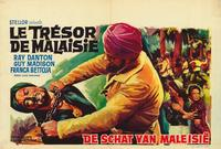 Sandokan Against the Leopard of Sarawak - 27 x 40 Movie Poster - Belgian Style A