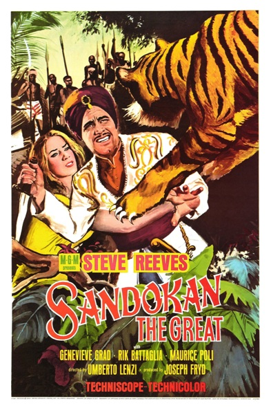 Sandokan The Great - 11 x 17 Movie Poster - Style B
