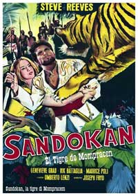 Sandokan The Great - 11 x 17 Movie Poster - Spanish Style A