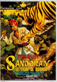 Sandokan The Great - 11 x 17 Movie Poster - French Style A