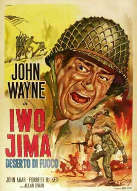 Sands of Iwo Jima - 11 x 17 Movie Poster - Italian Style A
