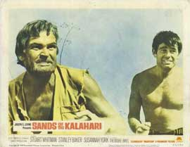 Sands of the Kalahari - 11 x 14 Movie Poster - Style H