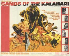 Sands of the Kalahari - 11 x 14 Movie Poster - Style A