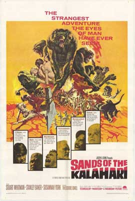 Sands of the Kalahari - 11 x 17 Movie Poster - Style A