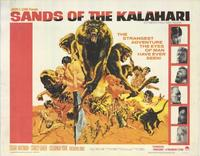 Sands of the Kalahari - 22 x 28 Movie Poster - Half Sheet Style A