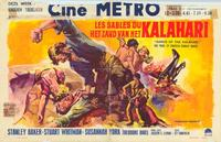 Sands of the Kalahari - 11 x 17 Movie Poster - Belgian Style A
