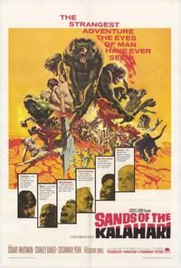 Sands of the Kalahari - 27 x 40 Movie Poster - Style A