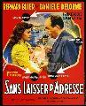 ...Sans laisser d'adresse - 11 x 17 Movie Poster - French Style A