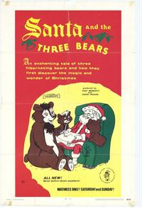 Santa and the 3 Bears - 27 x 40 Movie Poster - Style A