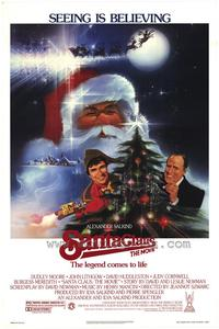 Santa Claus: The Movie - 43 x 62 Movie Poster - Bus Shelter Style A