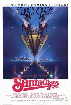 Santa Claus: The Movie - 27 x 40 Movie Poster - Style B