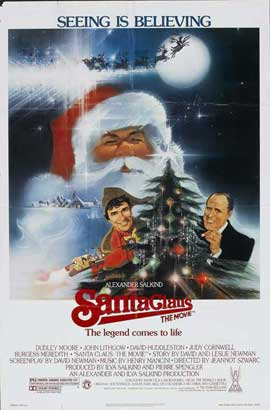 Santa Claus: The Movie - 11 x 17 Movie Poster - Style A