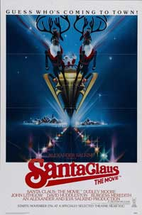 Santa Claus: The Movie - 11 x 17 Movie Poster - Style B