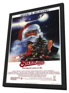 Santa Claus: The Movie - 11 x 17 Movie Poster - Style A - in Deluxe Wood Frame