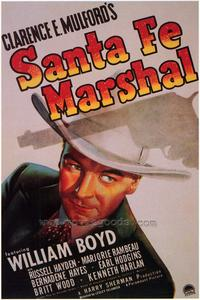 Santa Fe Marshal - 43 x 62 Movie Poster - Bus Shelter Style A