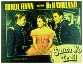 Santa Fe Trail - 11 x 14 Movie Poster - Style B