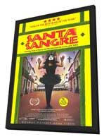 Santa Sangre - 11 x 17 Movie Poster - Style B - in Deluxe Wood Frame