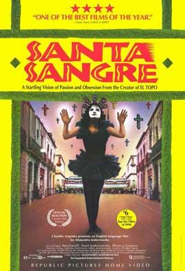 Santa Sangre - 11 x 17 Movie Poster - Style B