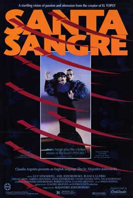 Santa Sangre - 27 x 40 Movie Poster - Style A