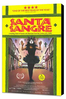 Santa Sangre - 11 x 17 Movie Poster - Style B - Museum Wrapped Canvas