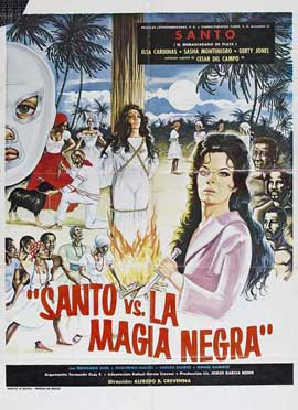 Santo vs. Black Magic Woman - 11 x 17 Movie Poster - Style A