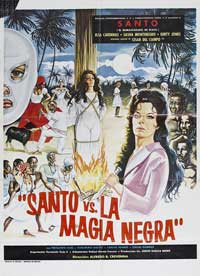 Santo vs. Black Magic Woman - 27 x 40 Movie Poster - Style A