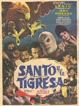 Santo y el aguila real - 11 x 17 Movie Poster - Spanish Style A