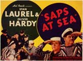 Saps at Sea - 11 x 17 Movie Poster - UK Style A