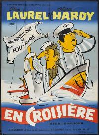Saps at Sea - 27 x 40 Movie Poster - French Style B