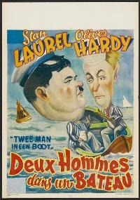 Saps at Sea - 27 x 40 Movie Poster - Belgian Style B