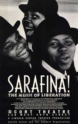 Sarafina! (Broadway) - 27 x 40 Movie Poster - Style A