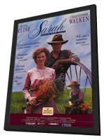 Sarah, Plain and Tall - 11 x 17 Movie Poster - Style A - in Deluxe Wood Frame