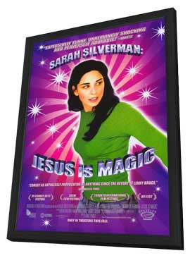 Sarah Silverman: Jesus is Magic - 11 x 17 Movie Poster - Style A - in Deluxe Wood Frame