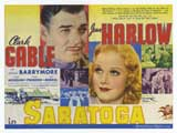 Saratoga - 30 x 40 Movie Poster UK - Style A