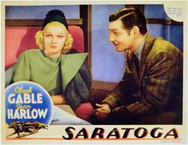 Saratoga - 11 x 14 Movie Poster - Style A