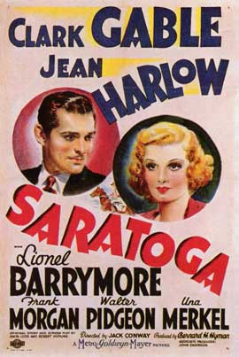 Saratoga - 11 x 17 Movie Poster - Style A