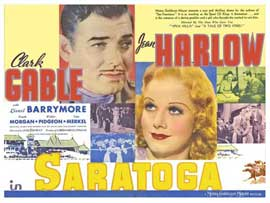 Saratoga - 11 x 14 Movie Poster - Style B