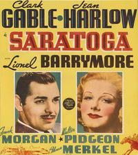 Saratoga - 11 x 17 Movie Poster - Style C