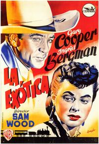 Saratoga Trunk - 27 x 40 Movie Poster - Spanish Style A