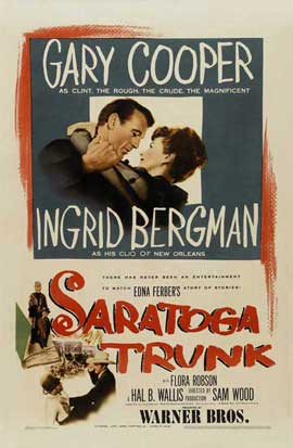 Saratoga Trunk - 27 x 40 Movie Poster - Style A