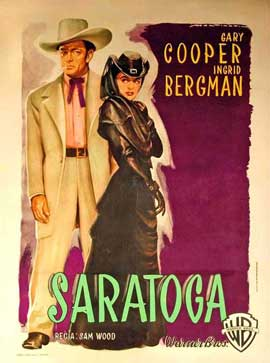 Saratoga Trunk - 11 x 17 Movie Poster - Style C