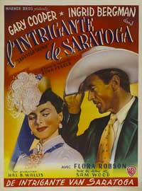 Saratoga Trunk - 11 x 17 Movie Poster - French Style A