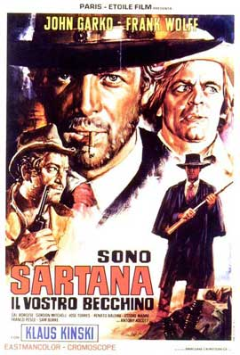 Sartana the Gravedigger - 27 x 40 Movie Poster - Italian Style B