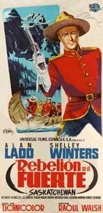Saskatchewan - 20 x 40 Movie Poster - Spain Style A