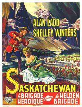 Saskatchewan - 27 x 40 Movie Poster - Belgian Style A