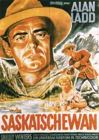 Saskatchewan - 11 x 17 Movie Poster - German Style B
