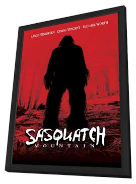 Sasquatch Mountain - 27 x 40 Movie Poster - Style A - in Deluxe Wood Frame